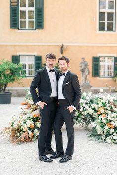 Austria, Fine Art Wedding Photography, Love Story, Castle, Suit Jacket, Celebrities, Pants, Image, Fashion