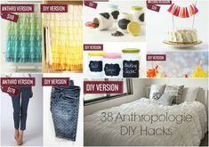 38 Anthropologie DIY Hacks