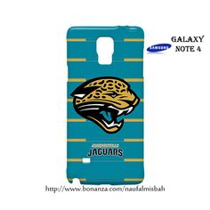 Jacksonville Jaguars Samsung Galaxy Note 4 Case Cover Wrap Around