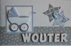 Leuk met die letters erop! De letters zijn gemaakt met een letterstans. Klik door naar het blogbericht voor nog meer voorbeelden met de letterstans.