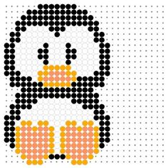 A great collection of perler bead, hama bead or fuse bead patterns for you to use with your peg boards. You'll find all kinds of birds, insects,. (Could also work as cross stitch or knitting charts) Pearler Bead Patterns, Perler Patterns, Loom Patterns, Beading Patterns, Art Patterns, Mosaic Patterns, Knitting Patterns, Knitting Charts, Embroidery Patterns