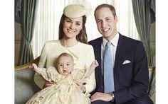 Kate e William divulgam fotos oficiais do batizado do príncipe George - Home - iG