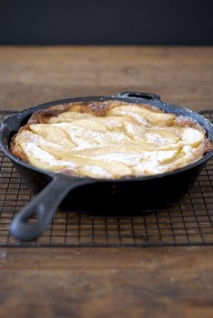 You'll love this easy Gluten Free Dutch Baby with Cinnamon Sugar Spiced Pears, from the Fast and Simple Gluten-Free cookbook by Gretchen Brown.