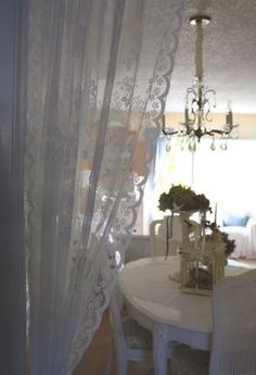 My Romantic Home: Decorating with Lace