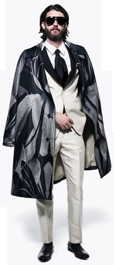 Farb-und Stilberatung mit www.farben-reich.com Alexander McQueen, men's S/S 2013