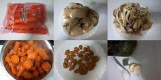 Receitas de cozinha: Receita de creme de cenoura com cogumelos