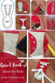 Quiet books/ Busy Books/ Felt Books + A Tutorial A post detailing. - Quiet books/ Busy Books/ Felt Books + A Tutorial A post detailing about Quiet Books - Diy Quiet Books, Baby Quiet Book, Felt Quiet Books, Diy Busy Books, Craft Books, Book Crafts, Quiet Book Templates, Quiet Book Patterns, Tutorial Quiet Book