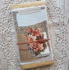 TN Junk Journal. Art Journal. Flowers. Journal Art, Junk Journal, Music Sheet Paper, Vellum Paper, Handmade Journals, Vintage Music, Rice Paper, Travelers Notebook, Watercolor Paper