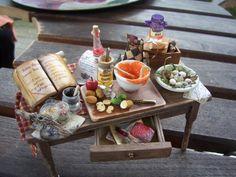 Witch kitchen table by Karin Caspar