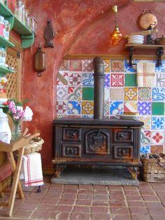 Pequeñeces: Una cocina antigua - An old kitchen