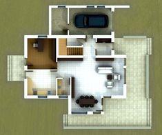 Proiect casa IE286 - Casa Z Design, Two Story Houses
