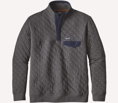 Patagonia Quilt 'Snap-T' Cotton Pullover