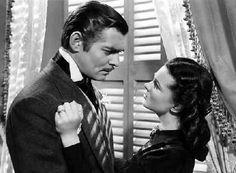 Clark Gable con Vivien Leigh