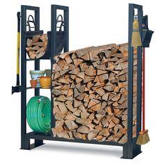 Utility Outdoor Wood Rack