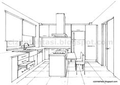 Artwork For Home Decoration Drawing Interior, Interior Design Sketches, Industrial Design Sketch, Online Architecture, Interior Architecture, Sketch Architecture, Classical Architecture, Perspective Drawing Lessons, Point Perspective