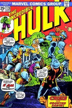 For sale marvel comics incredible hulk 176 warlock herb trimpe artwork first new men comic book emorys memories. Hulk Marvel, Hulk Comic, Marvel Comic Books, Comic Books Art, Marvel Comics, Comic Art, Book Art, Avengers, Comic Books For Sale