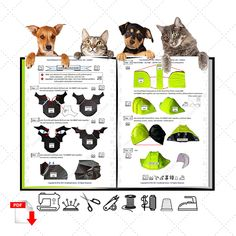 Sewing level: experienced beginner, experienced. #smalldogfashion #sewingpattern #dogcoats #doghoodie #dogclothes #dogclothesdiy Dog Coat Pattern, Coat Pattern Sewing, Coat Patterns, Jacket Pattern, Sewing Patterns, Small Dog Coats, Small Dogs, Small Dog Clothes Patterns, Waterproof Coat