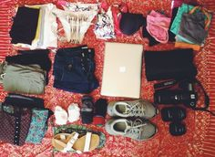 Packing list for three months backpacking inSoutheast Asia: Thailand, Vietnam, Cambodia, Laos, Singapore, Malaysia