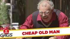 Tightfisted Grandpa Won't Pay the Bill ! Funny Gags, Funny Pranks, Fun Funny, Just For Laughs Gags, Viral Videos, Funny Videos, Laughing So Hard, Acting, Comedy