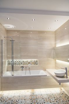 tub and shower combined