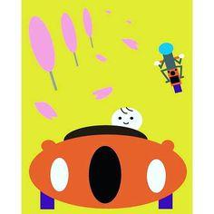 キャプション→Winding Road #car#motorcycle#Cherry Blossoms#illustration #art#artwok #painting #paint #drawing #draw #ワインディングロード#車#バイク#桜#イラストレーション#アート#アートワーク #ペインティング#ペイント#ドロー#ドローイング ユーザー→tomtom5665 場所→