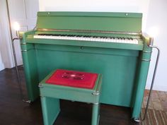Check out this classic art deco piano complete with chrome embellishments - hits the right note for us and it's for sale on #Preloved