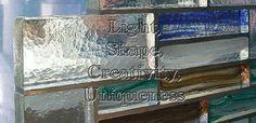 Cast glass bricks, Custom textured modern Contemporary Decorative cast glass bricks, glass blocks, tile wall New York Chicago Toronto Las Vegas Alberta