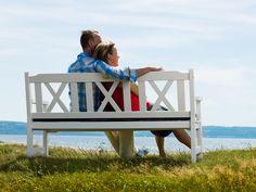 VISBY soffa bänk träbänk utemöbler hos Furniturebox
