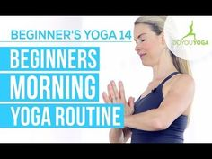 Yoga for Beginners Morning Flow (VIDEO)