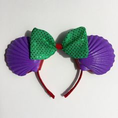 Ariel/The Little Mermaid Themed Mickey Mouse by loveleighbysophia
