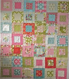 Very Easy Quilt Patterns   ... you to have a go at making a Boxes quilt... are you up for it