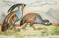 LARRY RIVERS Plumed Partridge, 1997 - Reated Artists