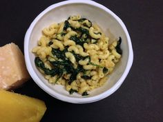 Cupcakes for Breakfast: spinach mac and cheese