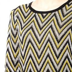 Gatsby Zigzag Sweater