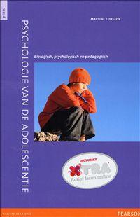 Psychologie van de adolescentie : Deel 4: Biologisch, psychologisch en pedagogisch - Martin F. Delfos - #Ontwikkelingspsychologie #Adolescenten - plaatsnr. 416.25/008