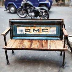 Truck bench by lorimd77