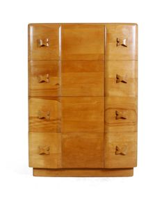 Art Deco Chest in Solid Cherry c1950