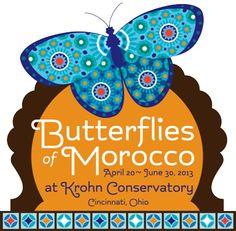 Butterflies of Morocco at Krohn Conservatory April 20th-June 30th.  http://www.cincinnatiparks.com/butterflyshow/
