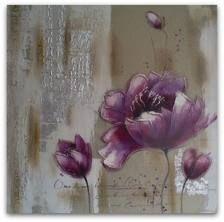 schilderij bloem paars - Google zoeken