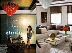 Tamara Mellon's New York apartment