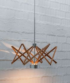 Concrete-Bamboo Lamps : And Pendant Light
