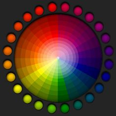 Color Wheel....Chromotherapy can easily be used as an alternative to Chinese acupuncture, achieving the same results in unblocking meridians without the discomfort of needles used in acupuncture