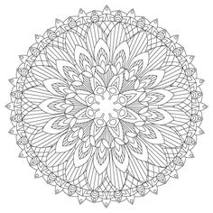 Mandalas Coloring Book for Adult by Elinorka