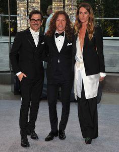 Erin Wasson, Shaun White tuxedo style