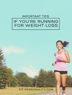 5 Tips for Running to Lose Weight - Fit Personality