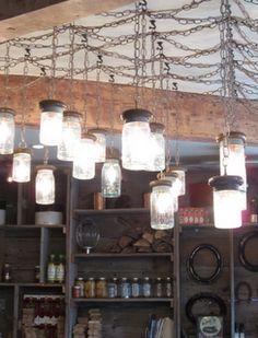 DIY: Mason Jar Lights