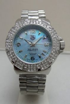 Tag Heuer Womens Watch. Beautiful blue face