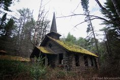 Frontier Town, North Hudson, NY,a former Western theme park, abandoned and falling into decay