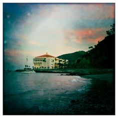 The Casino as seen from Descanso Beach.  Catalina Island, CA