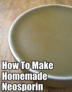 DIY Homemade Salve